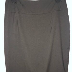 Mossimo Black Pencil Skirt